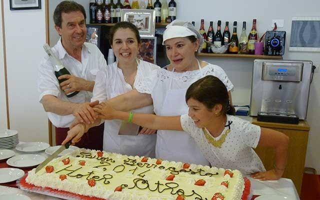 Un anniversario di torta