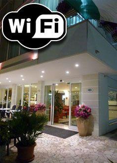 Wi-fi in tutto l'hotel