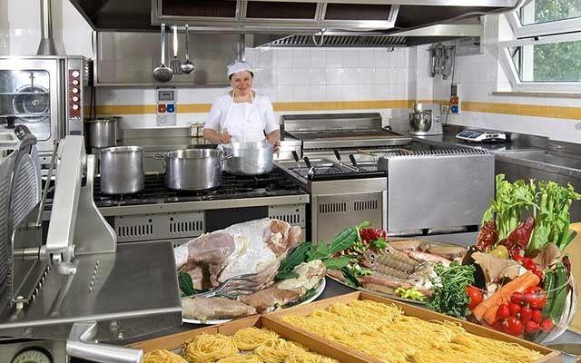 Mamma Luciana, la chef.